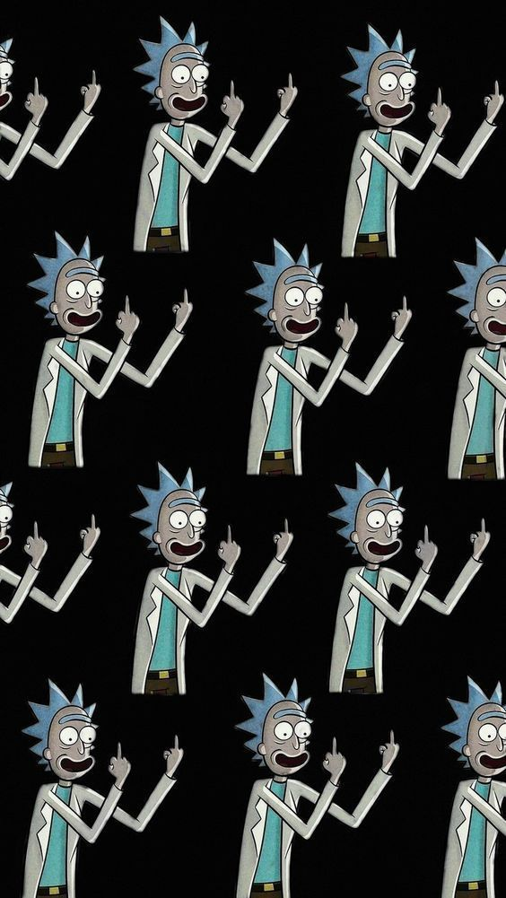 Pin By Best Of Wallpaper 4k On Wallpapers In 2020 Rick And Morty Poster Rick And Morty Stickers Cute Backgrounds