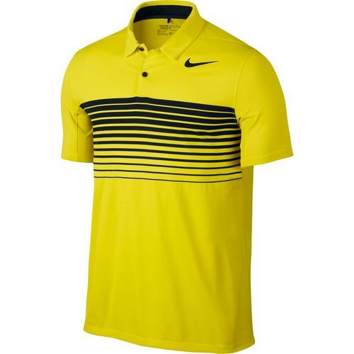 Nike Mobility Speed Stripe Men's Golf Polo - Lime Yellow | Golf, Mens golf  and Taylormade