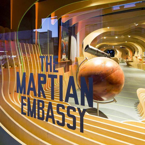 SYDNEY STORY FACTORY'S MARTIAN EMBASSY BY LAVA DESIGN