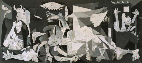 Pablo Picasso, Guernica, 1937, oil on canvas, 349 cm × 776 cm. (Museo Reina Sofia, Madrid)
