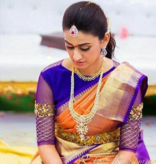 16 Amazing Blouse Work Designs For Pattu Sarees Keep Me Stylish Bridal Blouse Designs Blouse Design Models Saree Blouse Designs Latest
