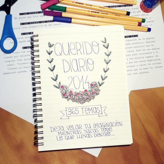 diarios personales creativos - Buscar con Google: