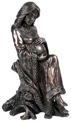 This is one of my favorites on Wiccan Supplies, Witchcraft Supplies & Pagan Supplies Experts-Eclectic Artisans: Mother Goddess Statue