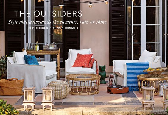 Unique Designer Outdoor & Patio Furniture | Serena & Lily