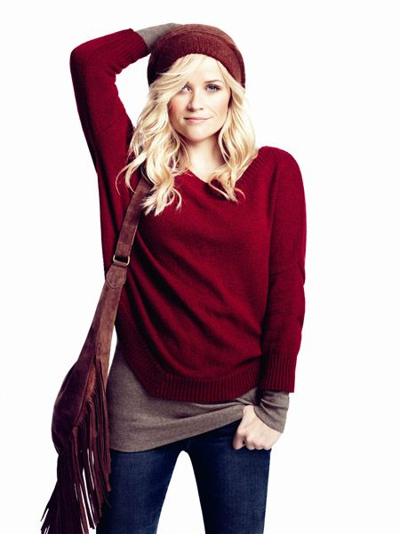 red for fall. cozy & perfect.