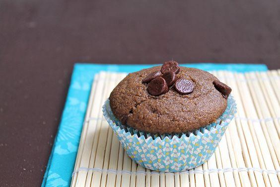 Double Chocolate Muffins vegan