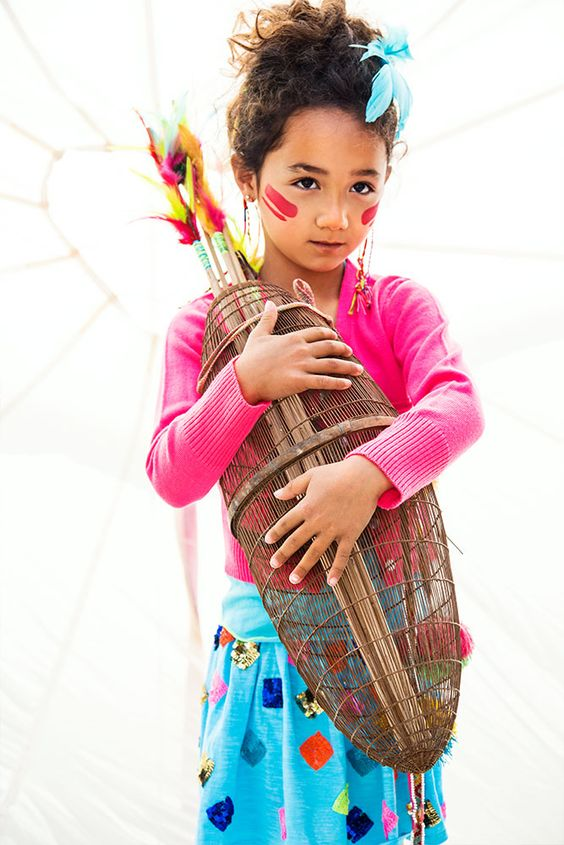 Kindermode Mim-Pi 2014 Rok Lichtblauw | Love the skirt | creatief en speels | www.kienk.nl