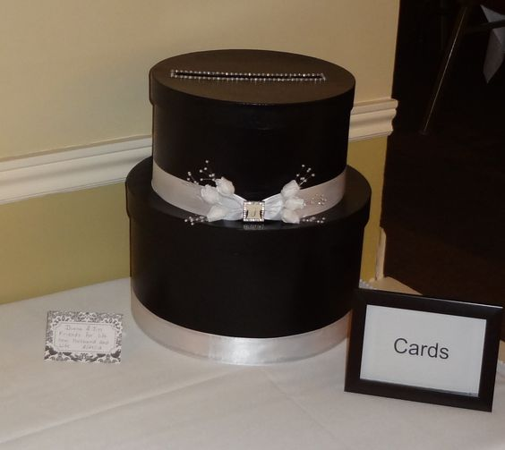 Acrylic Hat Boxes : Card box took too hat boxes purchased at michaels craft