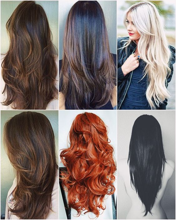 cortes para cabelos longos // long hair