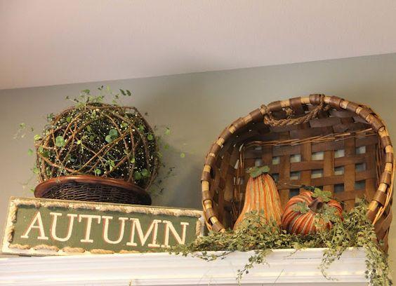 Savvy Seasons by Liz: Fall Mantle -Yes, I'm decorating for Fall!: Seasonal Holiday Decorating, Fall Autumn Ideas, Decor Halloween Fall Ideas, Savvy Season, Decorating Ideas, Fall Halloween Thanksgiving, Fall Decorating