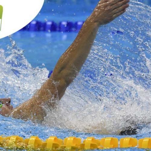 Paralympic Games - Team Belgium | Rio 2016 - Yannick Vandeput (100m dos.) - Natation