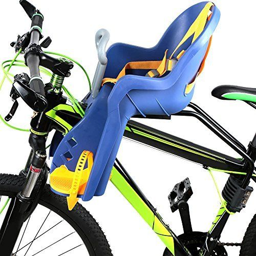 Lixada Child Bike Seat Baby Kids Bicycle Carrier Front Baby Seat With Handrail Max 15kg Weight Capacity Meet European Child Bike Seat Baby Seat Kids Bicycle
