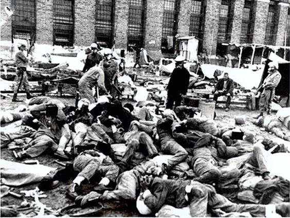 1971. Attica. Attica Prison Riot