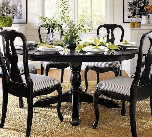 Pottery Barn Aris Dining Table - $750