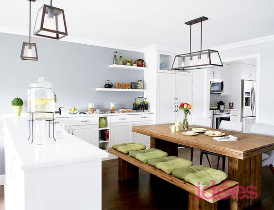 Une maison multifamiliale | Les idées de ma maison Photo: ©TVA Publications | Yves Lefebvre #deco #visiteguide #maison #famille #invites #organisation #cuisine