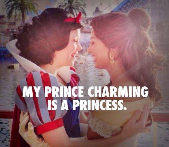 My price charming is a princess #lesbian