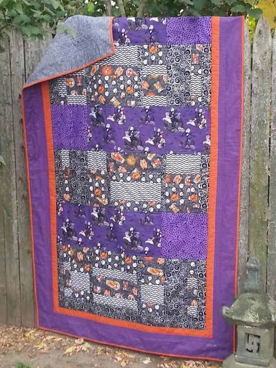 Looking for quilting project inspiration? Check out The Pumpkin King by member Sandy Thompson Riccardi. Finished with help from Small Machine, Big Quilts, Better Results on Craftsy.