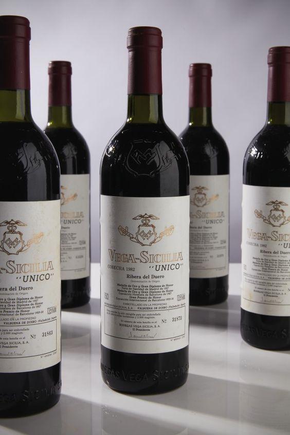 Vega Sicilia Unico Ribera Del Duero Wijn Drank Wijnkelder
