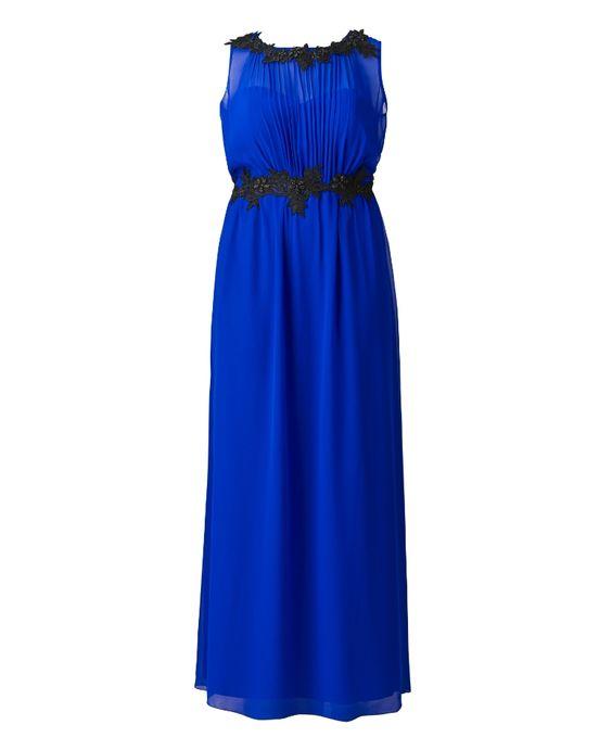 """""""Little Mistress"""" Little Mistress Blue Maxi Dress at Simply Be"""