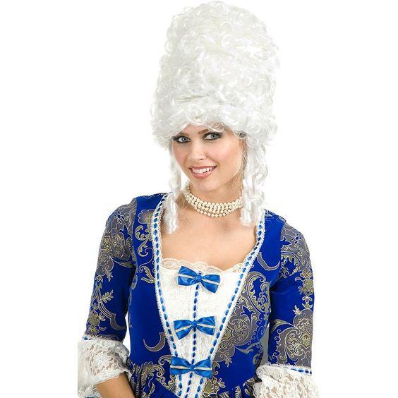 Marie Antoinette Wig - Adult, White