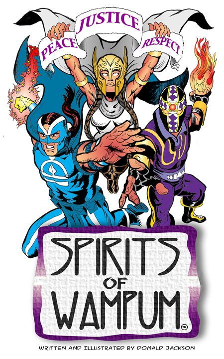 Spirits of Wampum - Donald Jackson Art