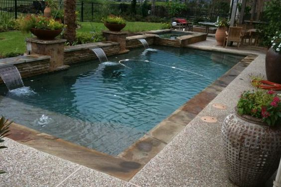 Pools Swimming And Backyards On Pinterest