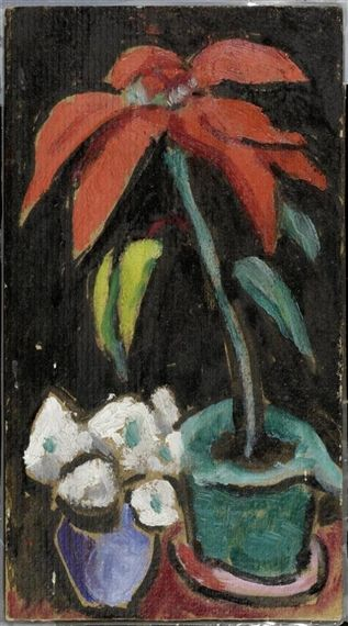 Gabriele Münter, Red poinsettia: