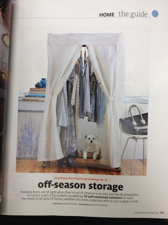 The changing of seasons storage option