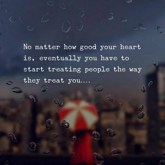 No matter how good heart is.. via (http://ift.tt/2F6y0Hq)