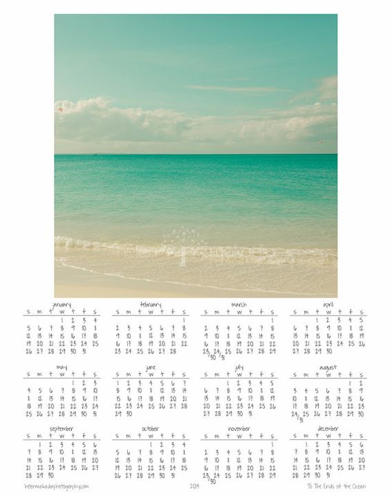 2014 Calendar, Create your own Calendar, 11x14 Wall Calendar - how to create your own calendar