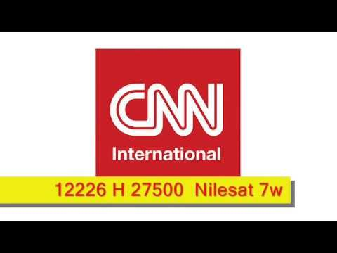 Cnn Frequency Nilesat 7w Youtube