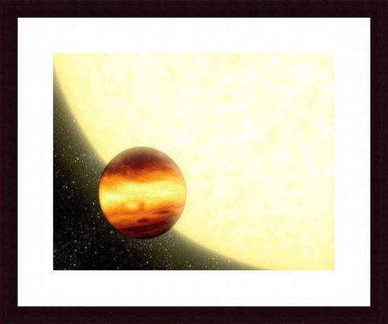 A Gas-Giant Planet Orbiting Very Close to Its Parent Star