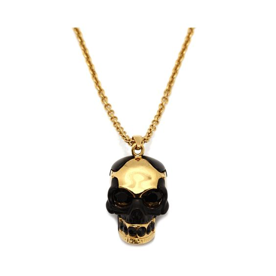Alexander McQueen Necklace  Puzzled Skull