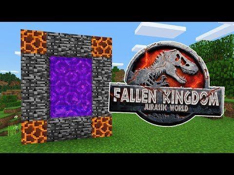 How To Make A Portal To The Jurassic World Fallen Kingdom