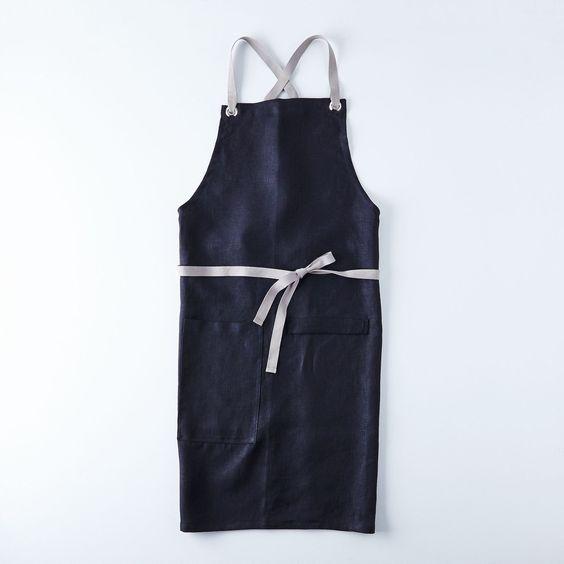 The new black (apron).