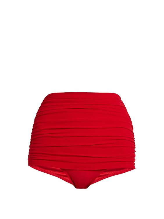 Bill high-rise bikini briefs | Norma Kamali | MATCHESFASHION.COM US