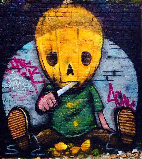 London Graffiti - photography by Deana Clarke