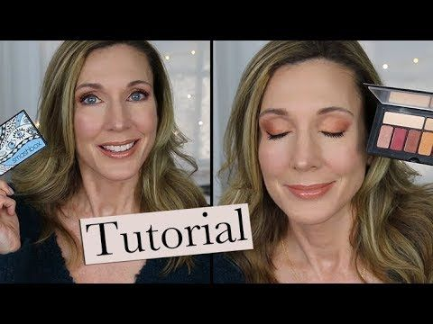 Warm Copper Spring Makeup Tutorial Youtube With Images