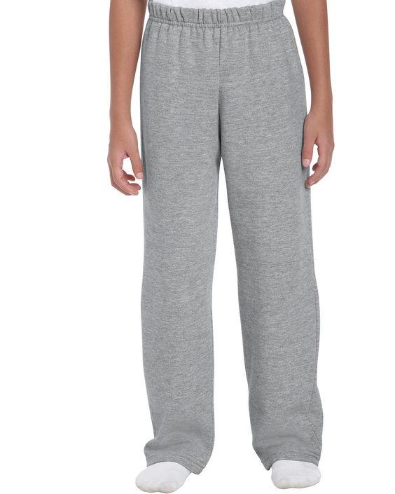 Gildan Heavy Blend Youth Open Bottom Sweatpants 18400B from X-it Corporate