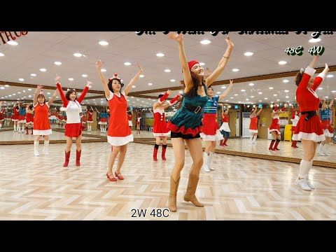 All I Want For Christmas Is You Improver Line Dance Youtube In 2020 Line Dancing Mariah Carey Dance
