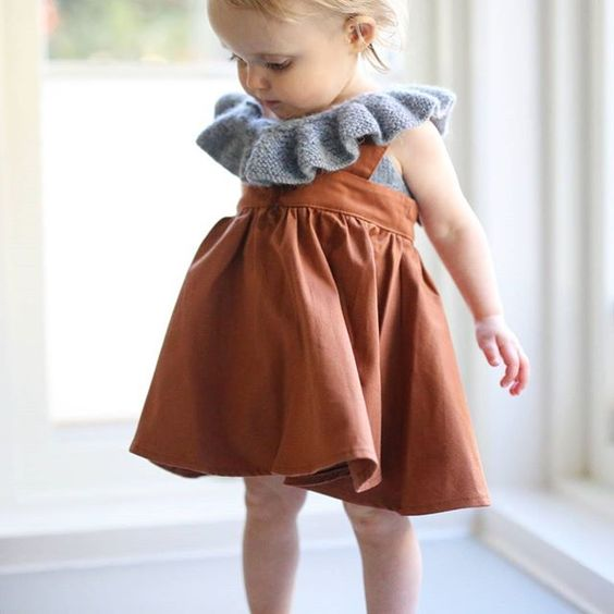 Fin & Vince skirt - baby girl clothes