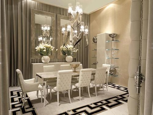 Good Glamorous Dining Room | Modern Home!! | Pinterest | Room, Dining Room  Design And Dining