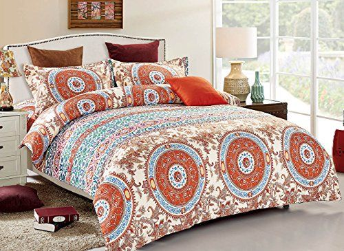 3 Piece Duvet Cover and Pillow Shams Bedding Set, Soft Mi...