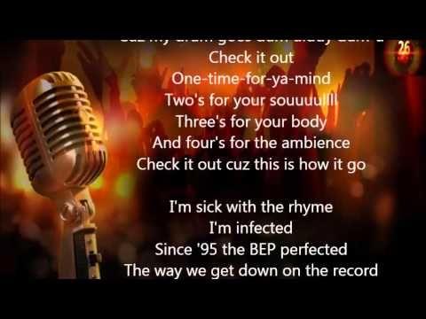 Black Eyed Peas - Audio Delite At Low Fidelity Lyrics ...