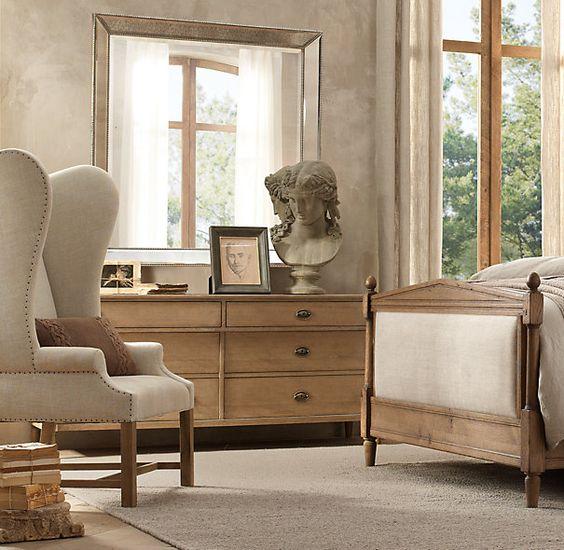 Dresser Mirror Restoration Hardware And Master Bedrooms On Pinterest