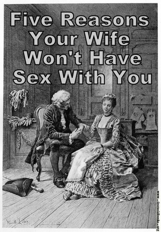 A wife that wont have sex