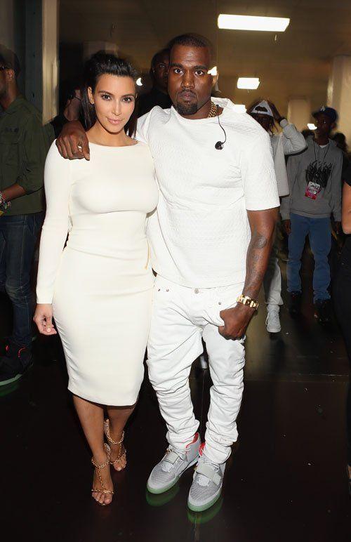 kim-kardashian Kanye West