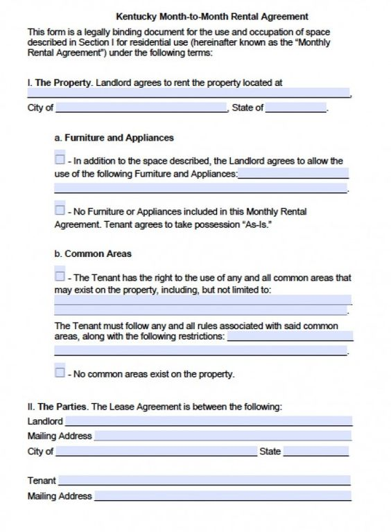 Partnership Agreement Template  Rental Lease    Real