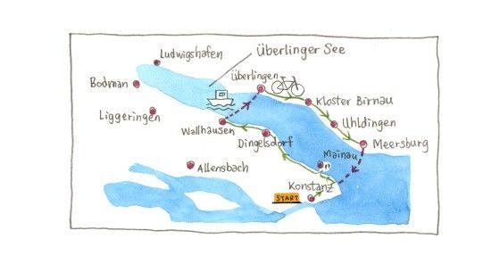 Pin Von Jacqueline Schmidt Auf Reisen Radtour Bodensee Konstanz