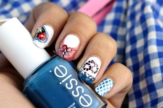 oktoberfest nail art